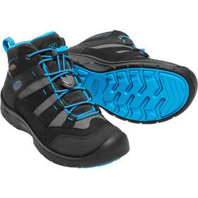 Keen Hikeport Mid WP - Calzado Niños - azul/negro